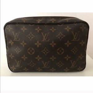 💯Authentic Louis Vuitton Trousse Toilette Bag